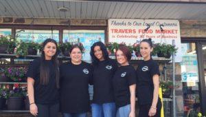 Travers Food Market staff