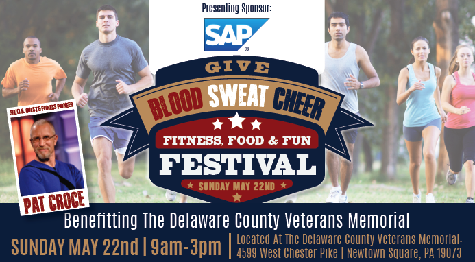 """Sunday's """"Give Blood, Sweat, Cheer Festival"""" a Good Time to Give Back, Have Fun, and Challenge Yourself"""