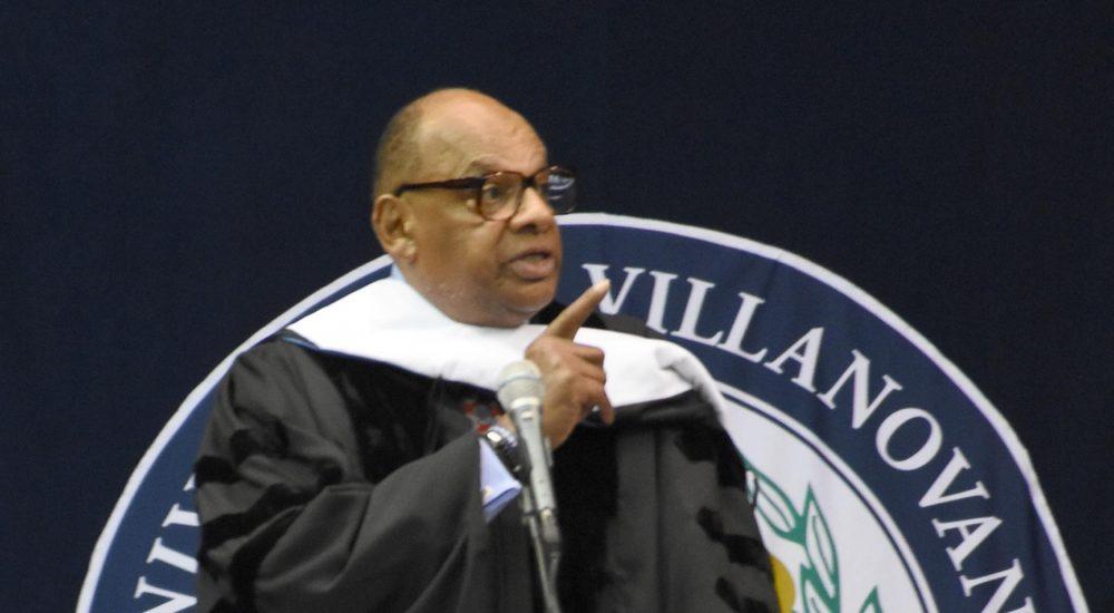 Basketball Hall of Famer and Nike Director Shares Wisdom with Villanova Graduates