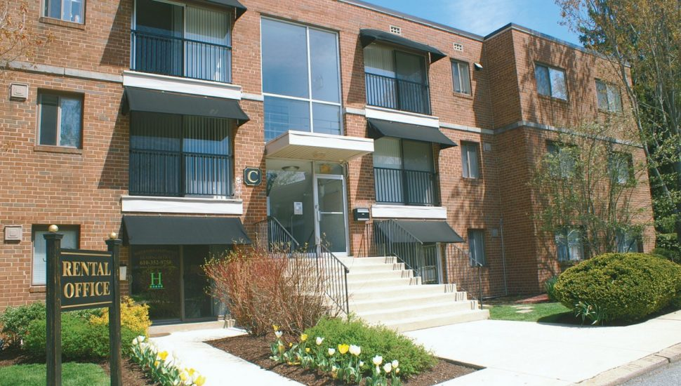 Waterford Apartments in Havertown.