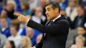 Villanova basketball coach Jay Wright