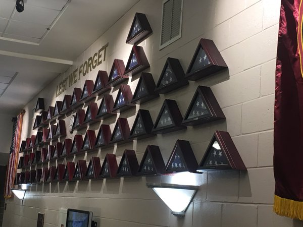 Radnor High School Unveils Wall of Honor to Commemorate Deceased Service Members