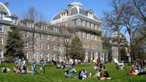 The Swarthmore College campus.