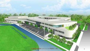 The proposed new Springfield High School.