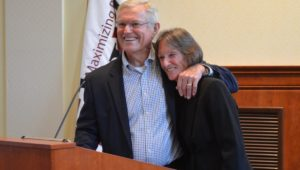 Dick Vermeil and Sandra Cornelius