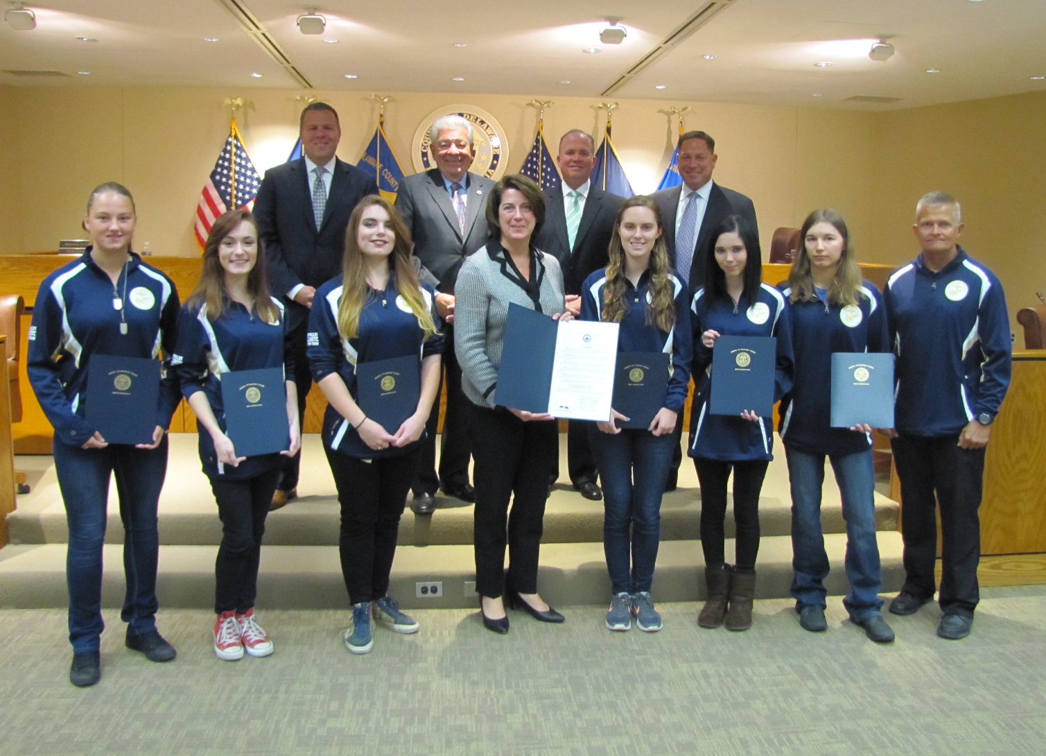 Sun Valley JROTC Girls' Fitness Team Wins National Title in San Diego