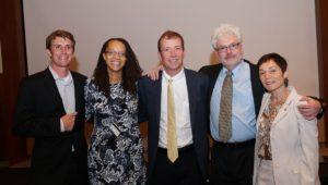 Drs. Bretton Alvaré, Marina Barnett, Scott Van Bramer, and Daniel Robinson