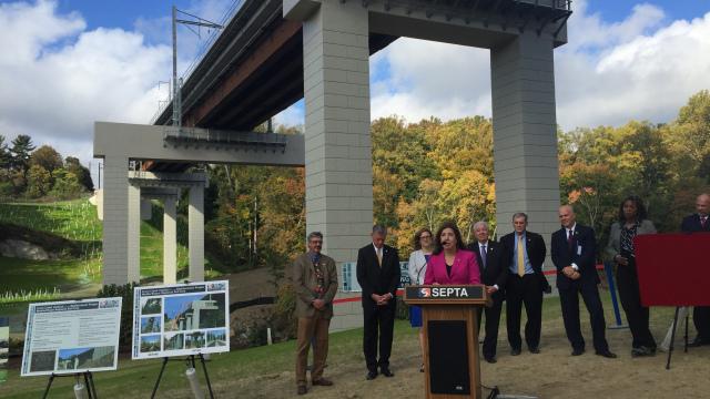New Crum Creek Viaduct Saves SEPTA's Media/Elwyn Line