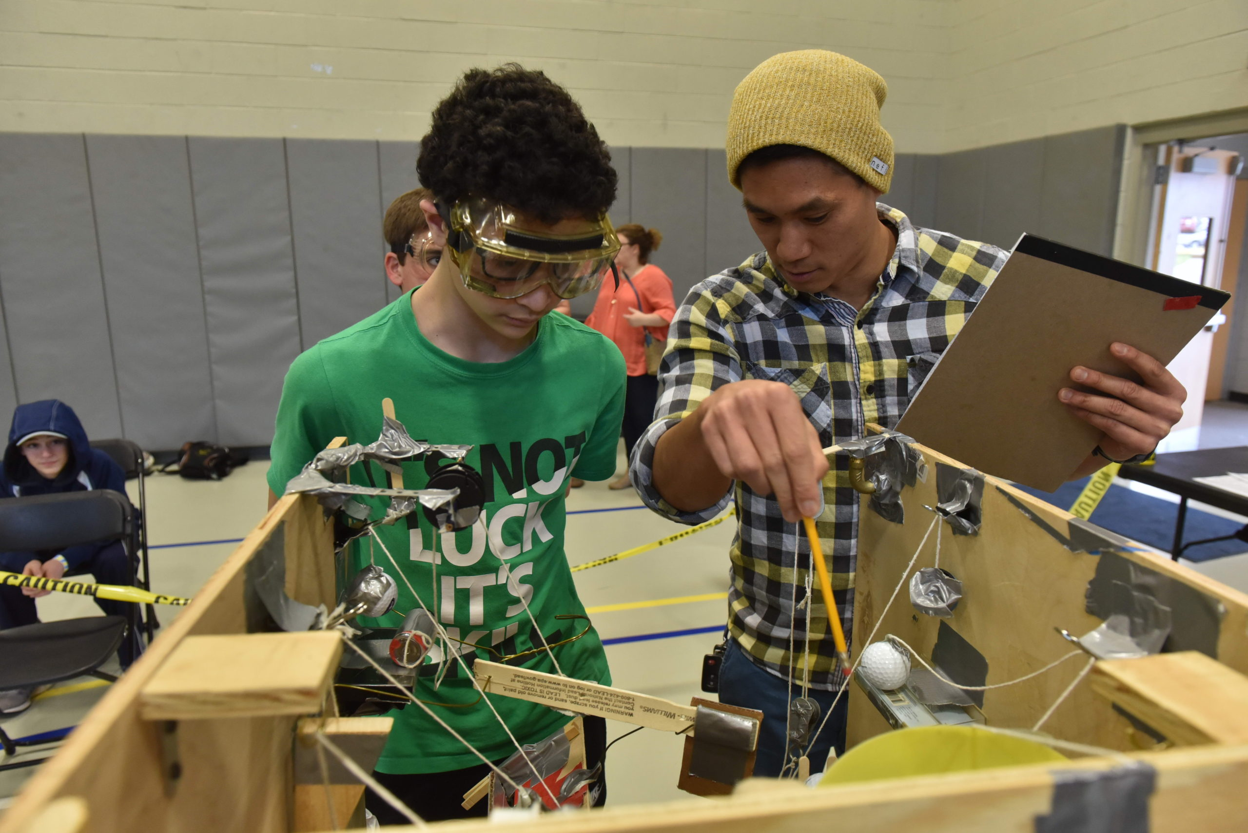 Students Test Their Inventions, Knowledge at Science Olympiad at Neumann University