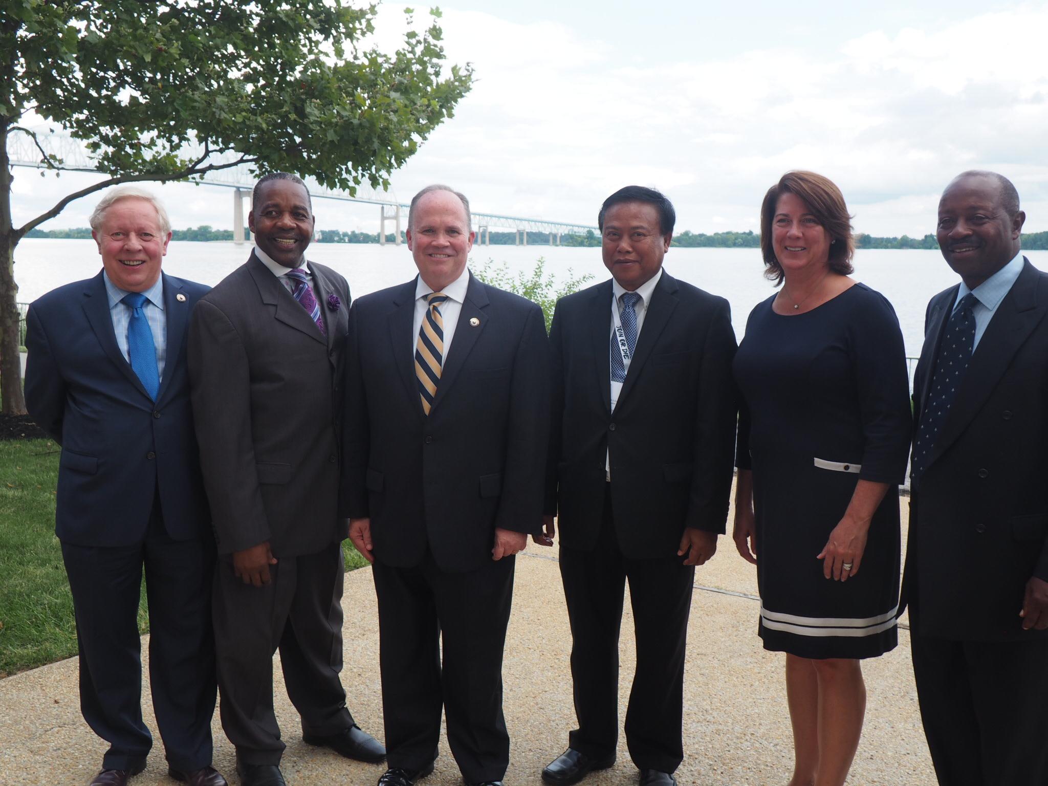 Cambodian Ambassador Chum Bunrong Visits Delaware County