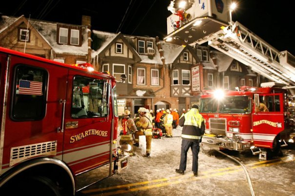 Swarthmore Receives Federal Grant for Fire Protection