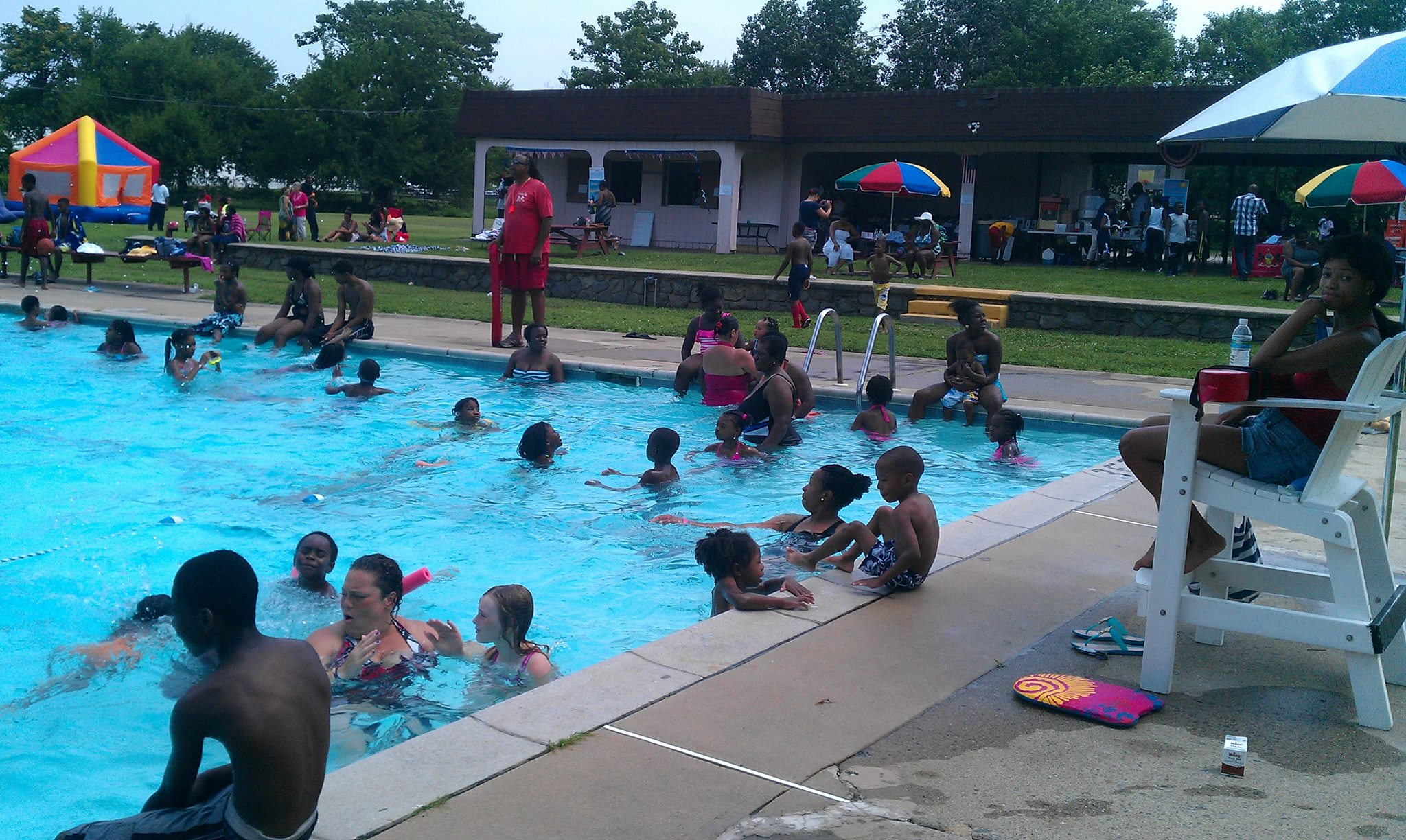 Historic Nile Swim Club in Yeadon Treading Water