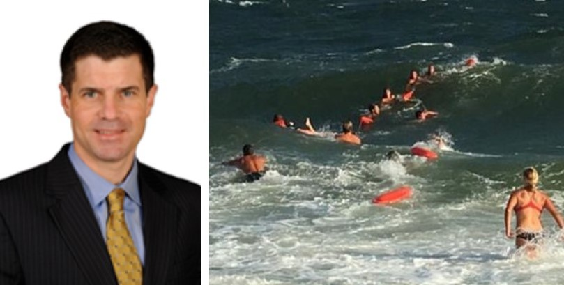 Human Chain Saves Newtown Square Man from Drowning in Cape May