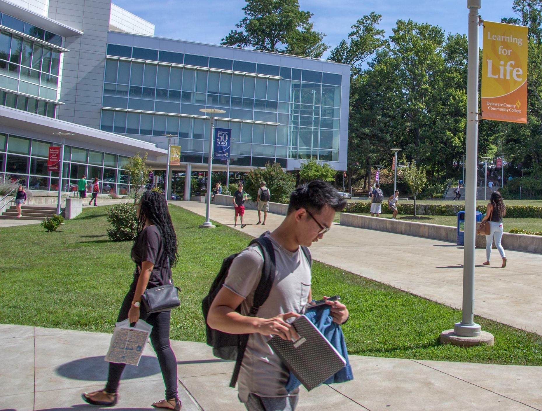 Free Education, Training Available for Delco Veterans at Delaware County Community College