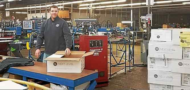 Clifton Heights Company Works Overnight to Ensure Ample Supply of Super Bowl T-Shirts