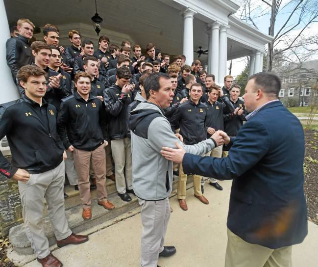 NCAA Lacrosse Champions Visit Nick's House in Swarthmore