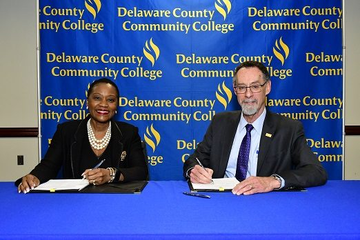 WCU, Delaware County Community College Sign New Agreement to Benefit Students