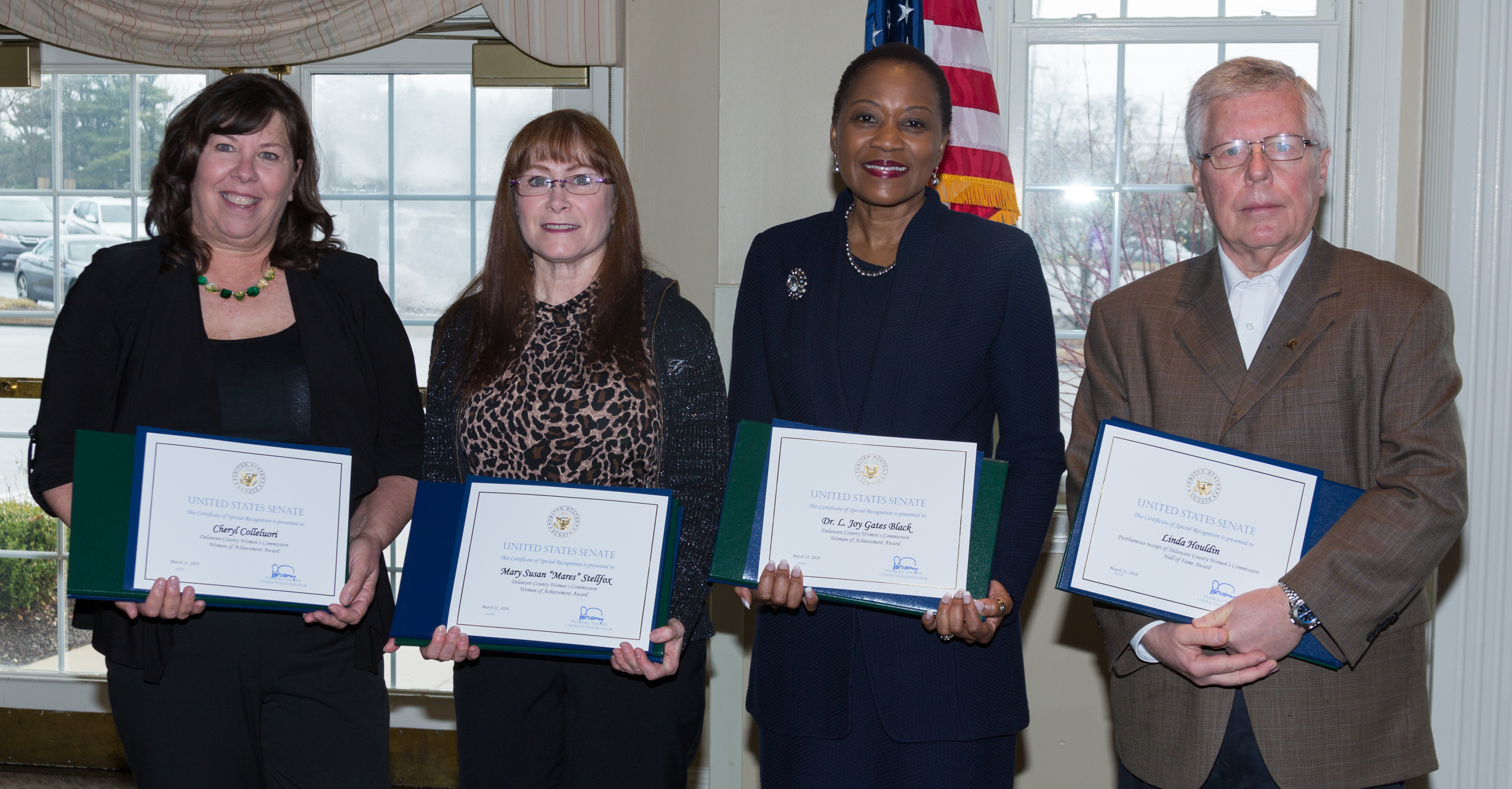 Delaware County Women's Commission Honors Four Women of Achievement