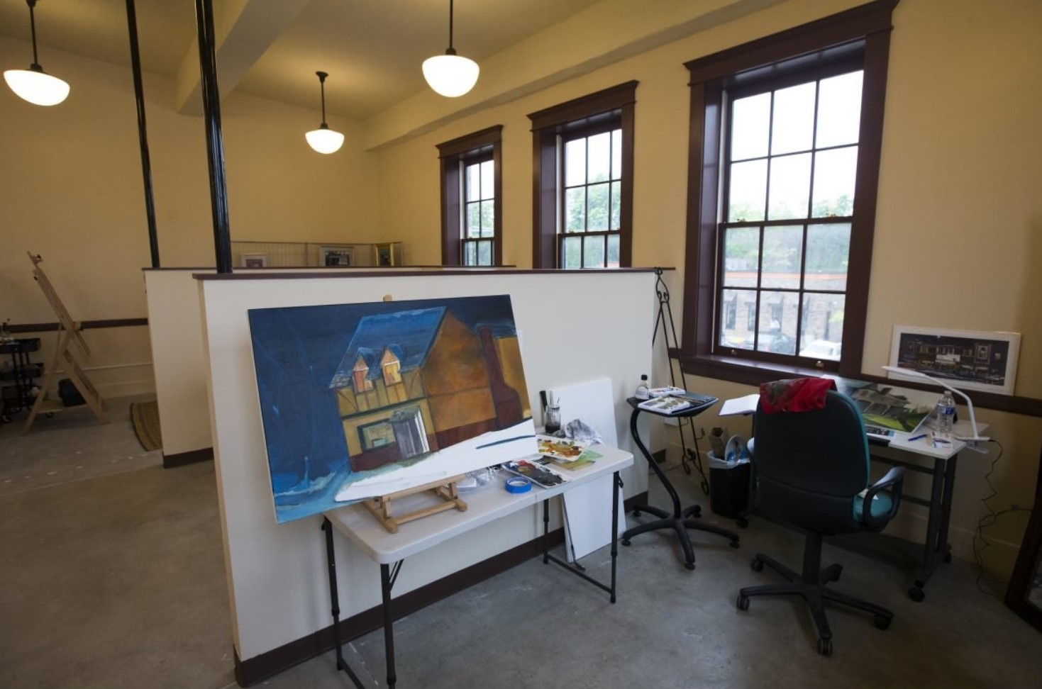 Opening of New Co-Working Space Has Lansdowne One Step Closer to Being an Artist's Village