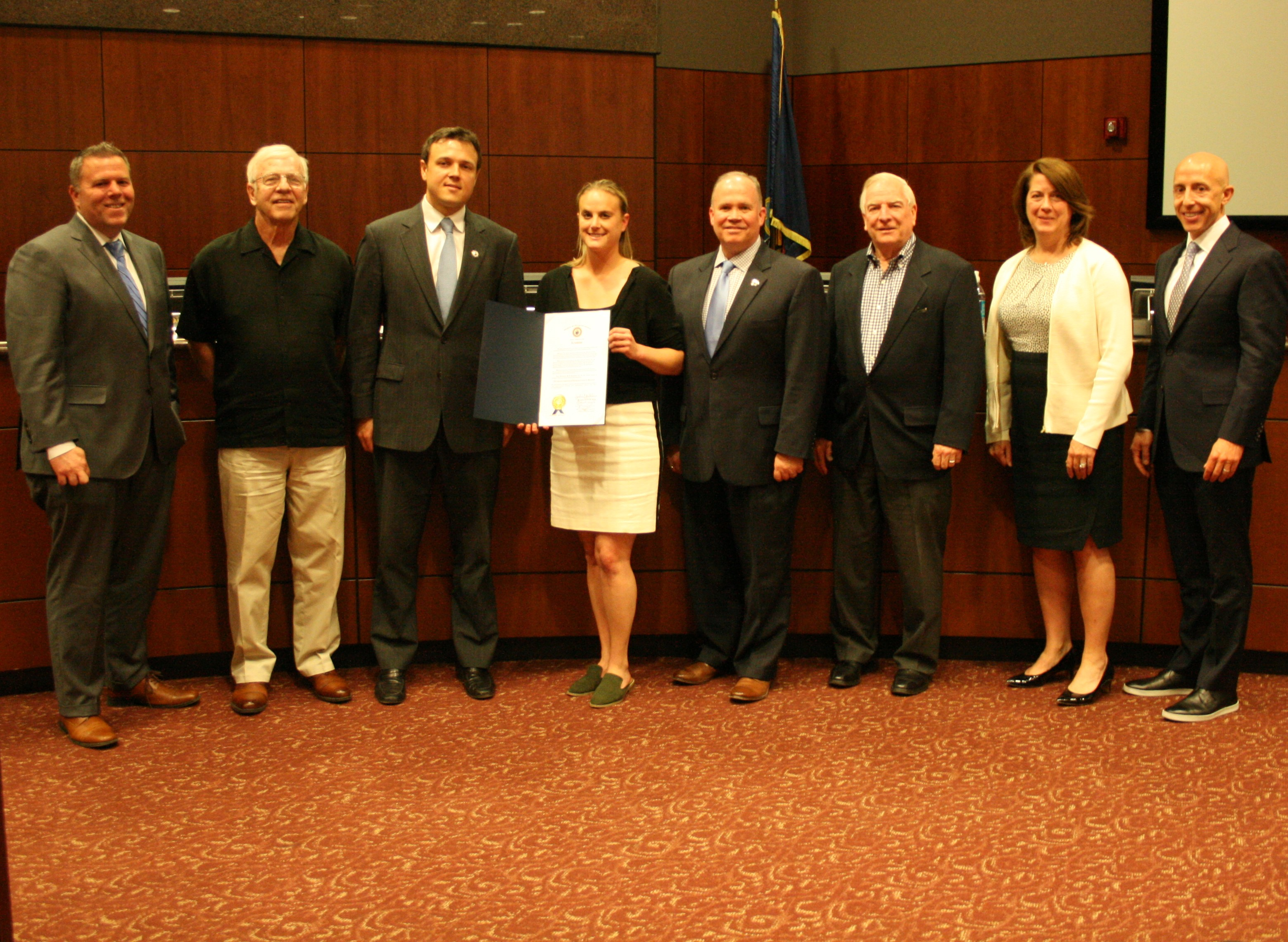 County Council Honors Sports Legends of Delaware County Museum
