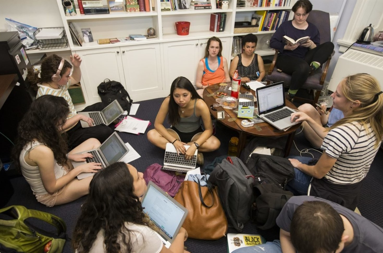 Swarthmore College Students Who Organized Sit-In Receive Audience with Administration