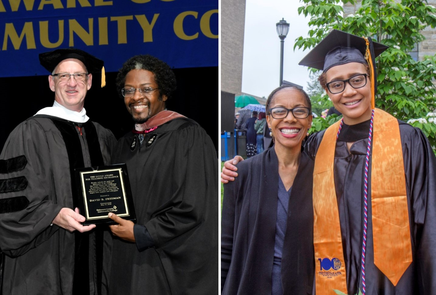 Two Profs at Delaware County Community College Receive Awards for Excellence in Teaching