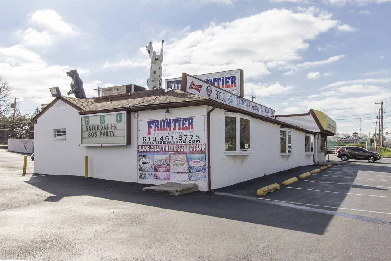 A Delaware County Landmark, the Frontier Saloon in Folsom, Now Up for Sale