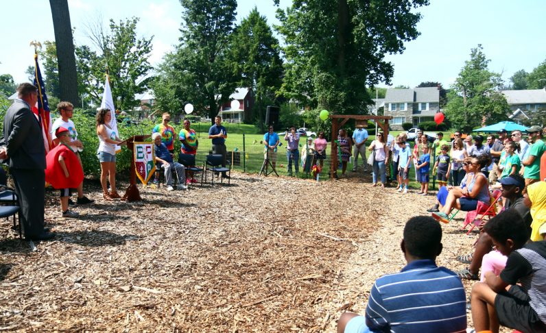 Bonner-Prendie High School Unveils Upper Darby's First Community Garden