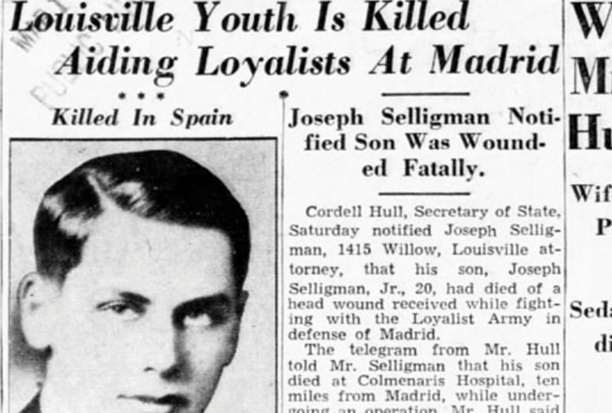Swarthmore College Student Was First U.S. Casualty of Spanish Civil War