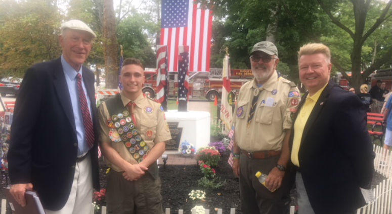 Aspiring Eagle Scout from Woodlyn Leads Effort to Restore Local Park to Its Former Glory