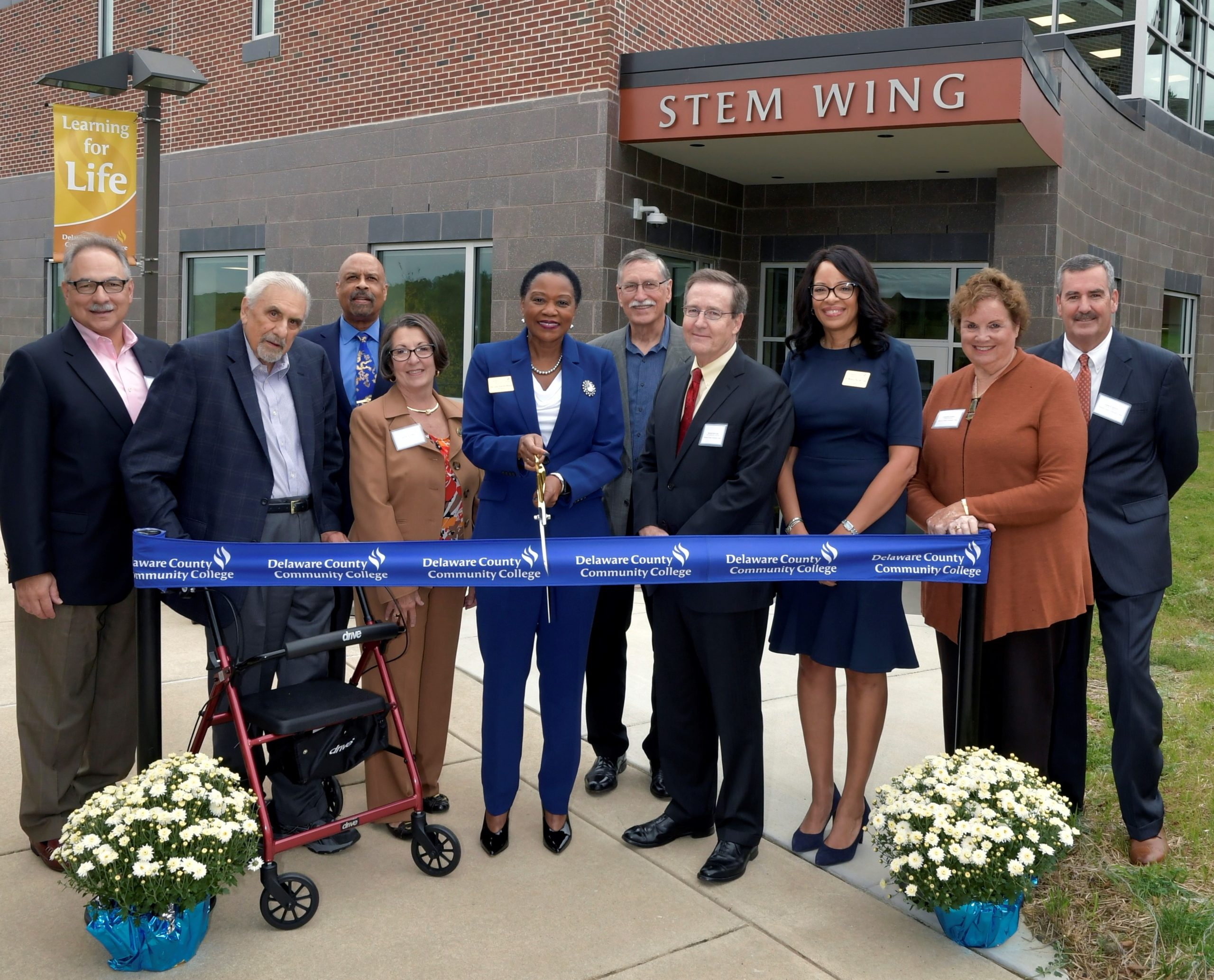 Delaware County Community College Unveils New STEM Wing at Downingtown Campus