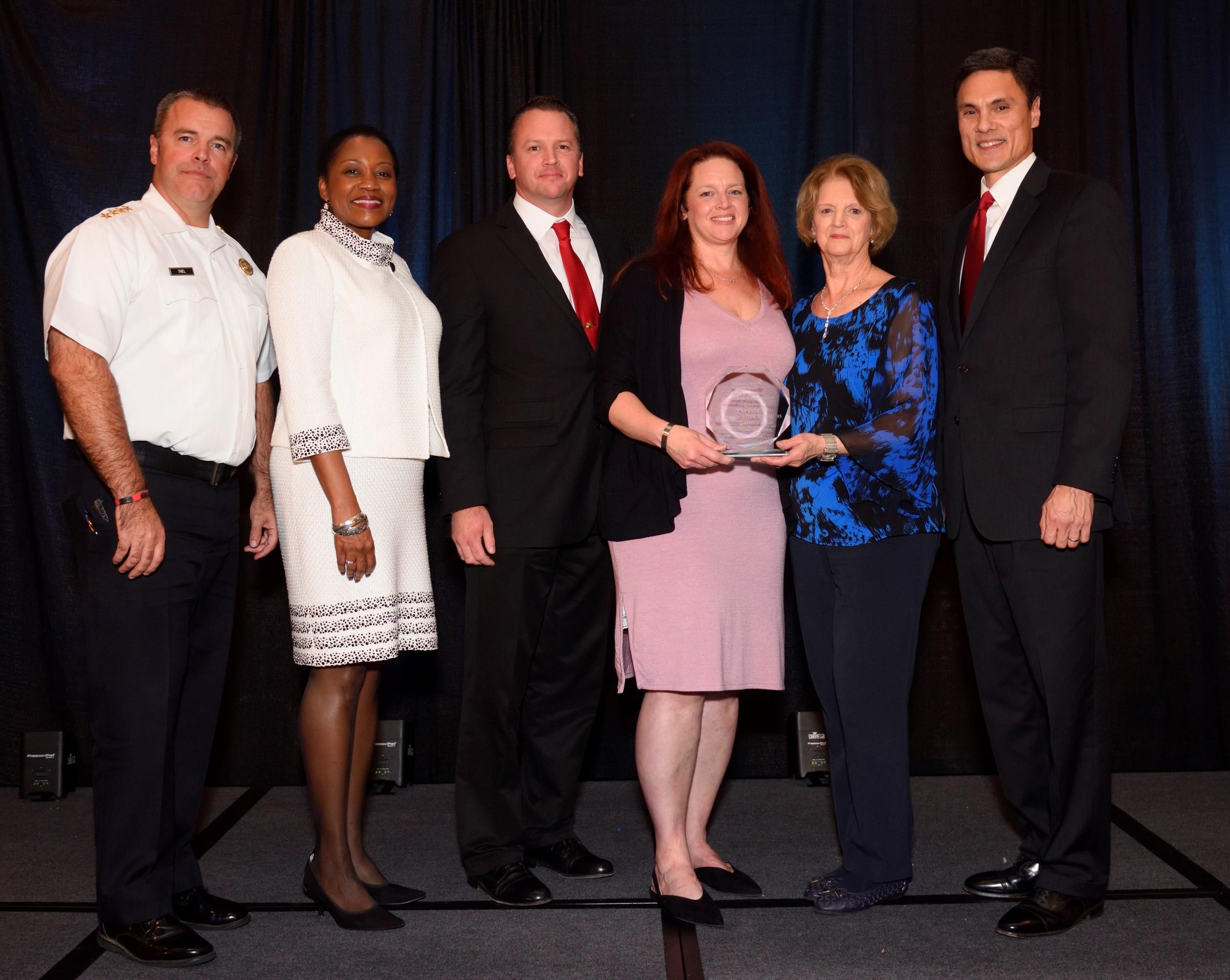 Delaware County Community College Bestows Highest Alumni Honor on Instructor, Fallen Firefighter