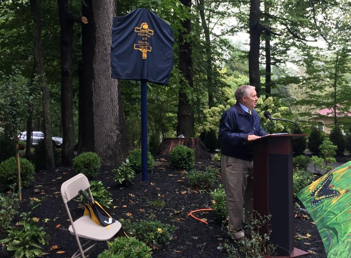 Former Governor Raised on Estate Spanning Radnor, Newtown Square Gets His Due