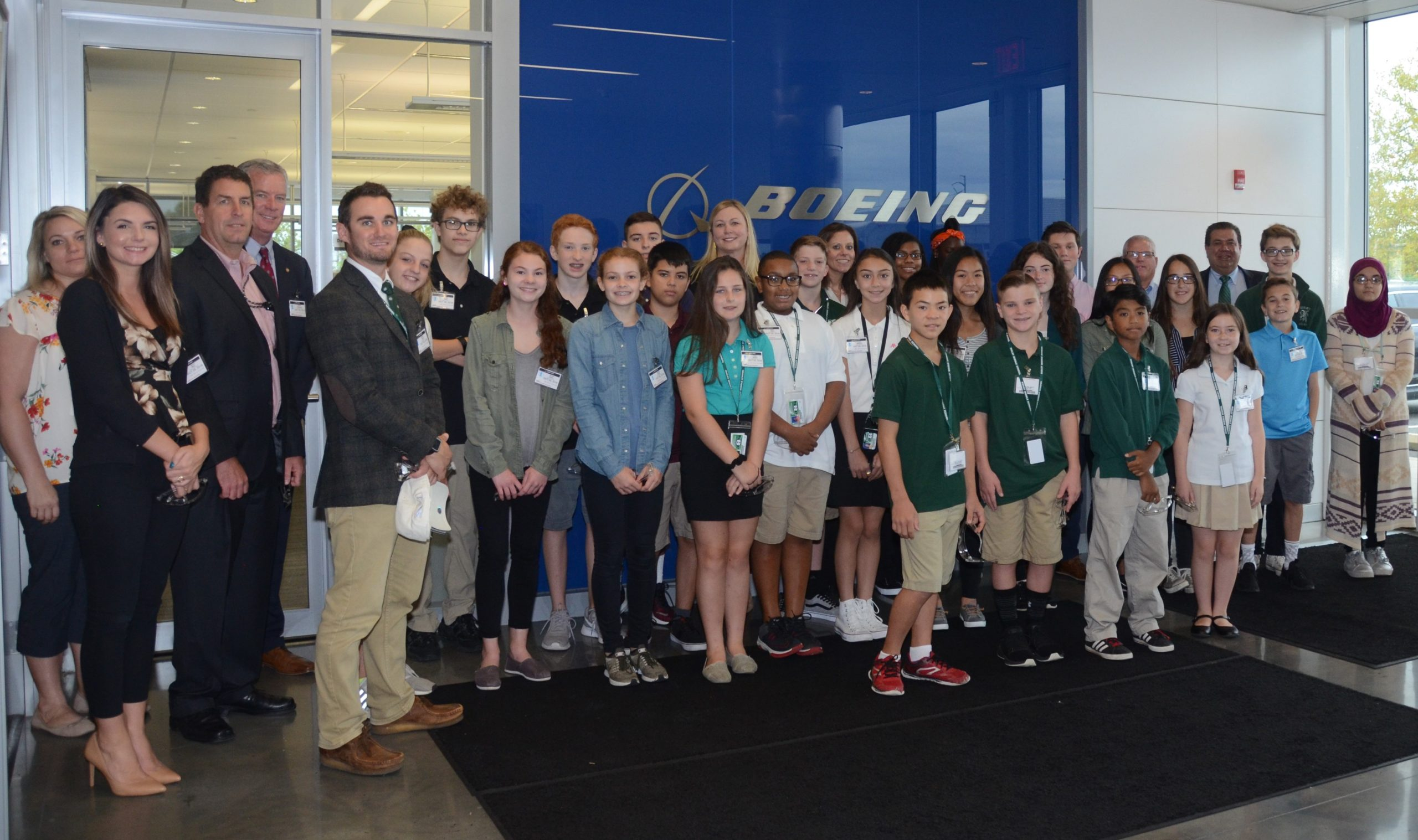 Delco Chamber, Sen. McGarrigle, Ridley Students Visit Boeing for National Manufacturing Day