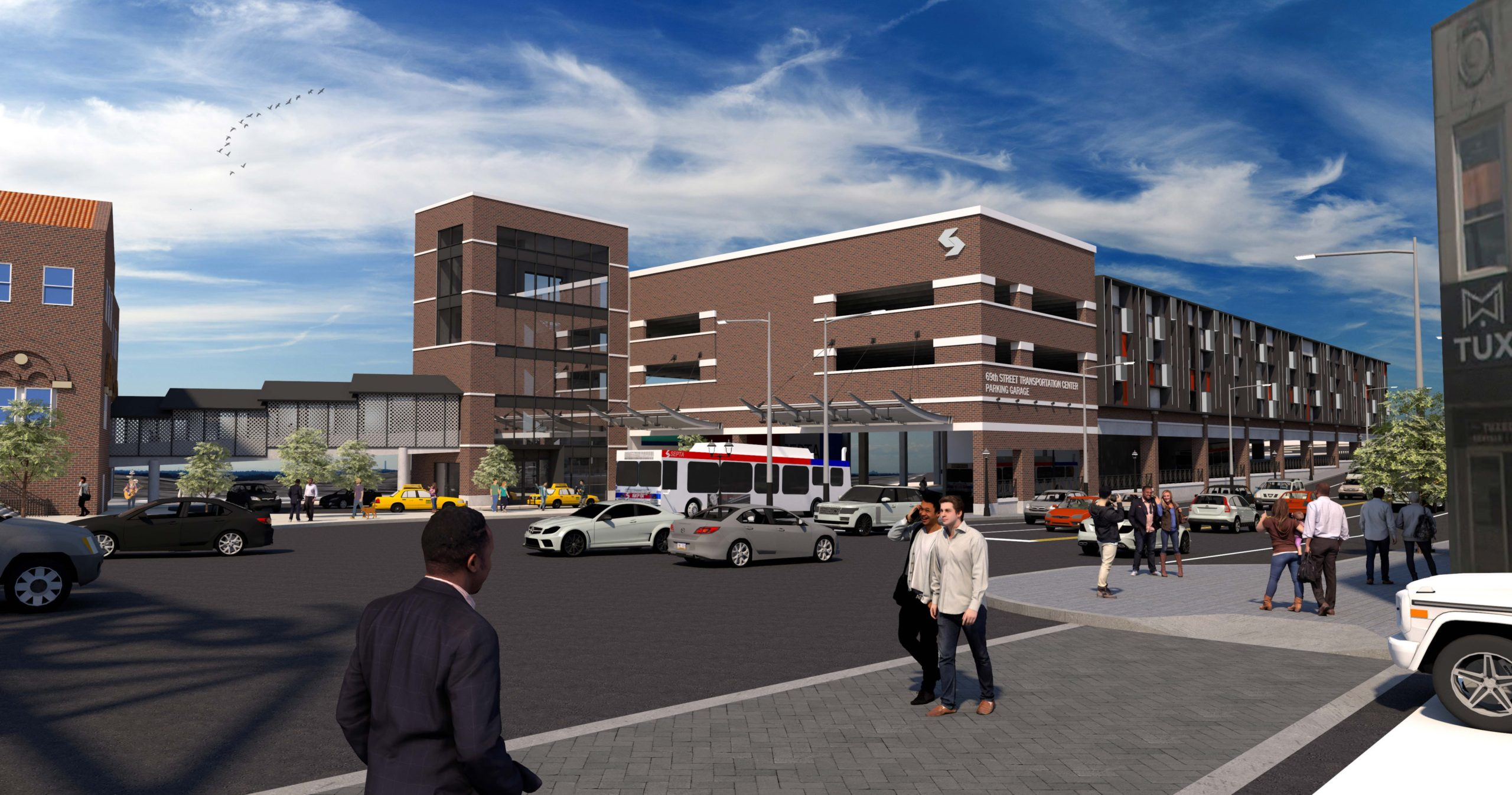 Upper Darby Township, SEPTA Partner to Bring New Parking Garage to 69th Street
