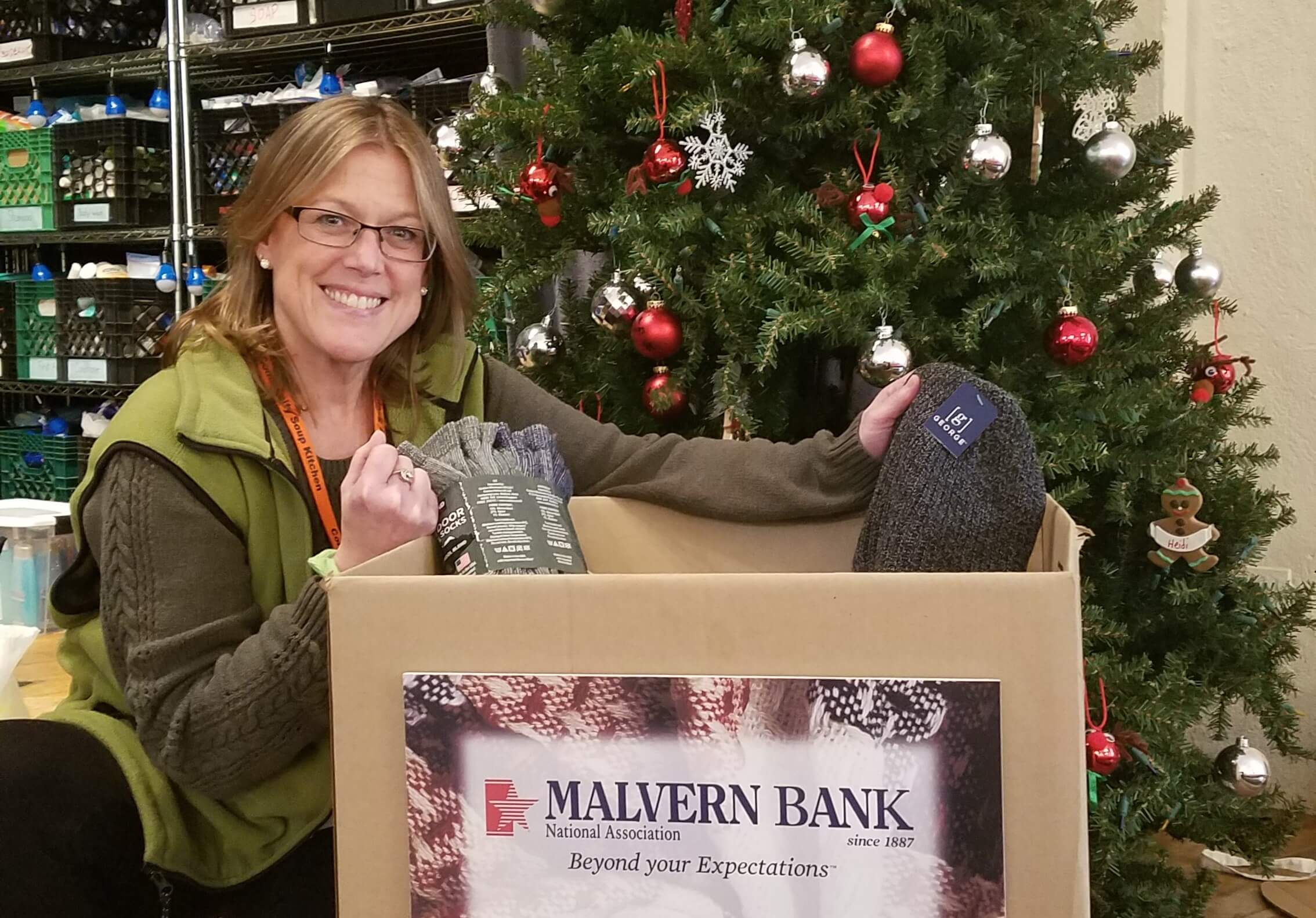 Holiday Season a Testament to Malvern Bank's Commitment to the Communities It Serves
