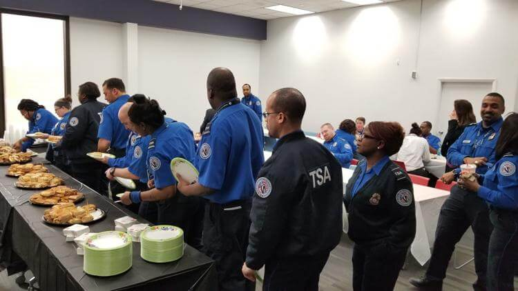TSA Officer from Boothwyn on Free Lunch for Unpaid Airport Workers: 'The Support Has Been Amazing'