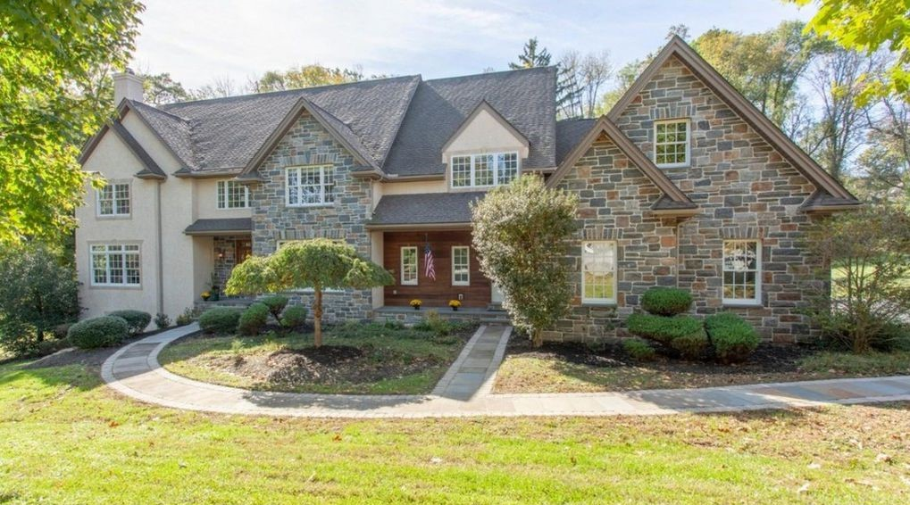 DNB First House of the Week: Colonial in Serene, Arboretum-Like Setting in Chester Heights