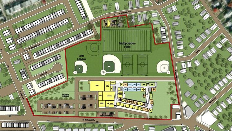 Plans Unveiled for New Middle School and Athletic Fields in Clifton Heights