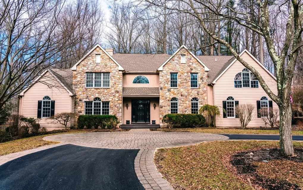 DNB First House of the Week: Colonial with Beautiful Stone Exterior in Glen Mills