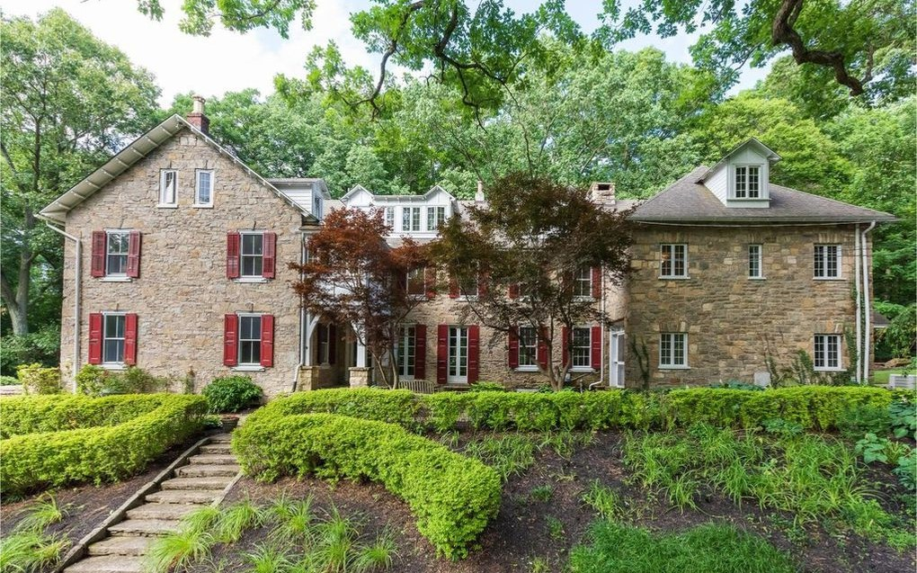 DNB First House of the Week: Historic Cheyney Estate Once Rented by F. Scott Fitzgerald