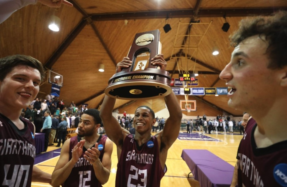 Swarthmore College Men's Basketball Team Bound for Final Four