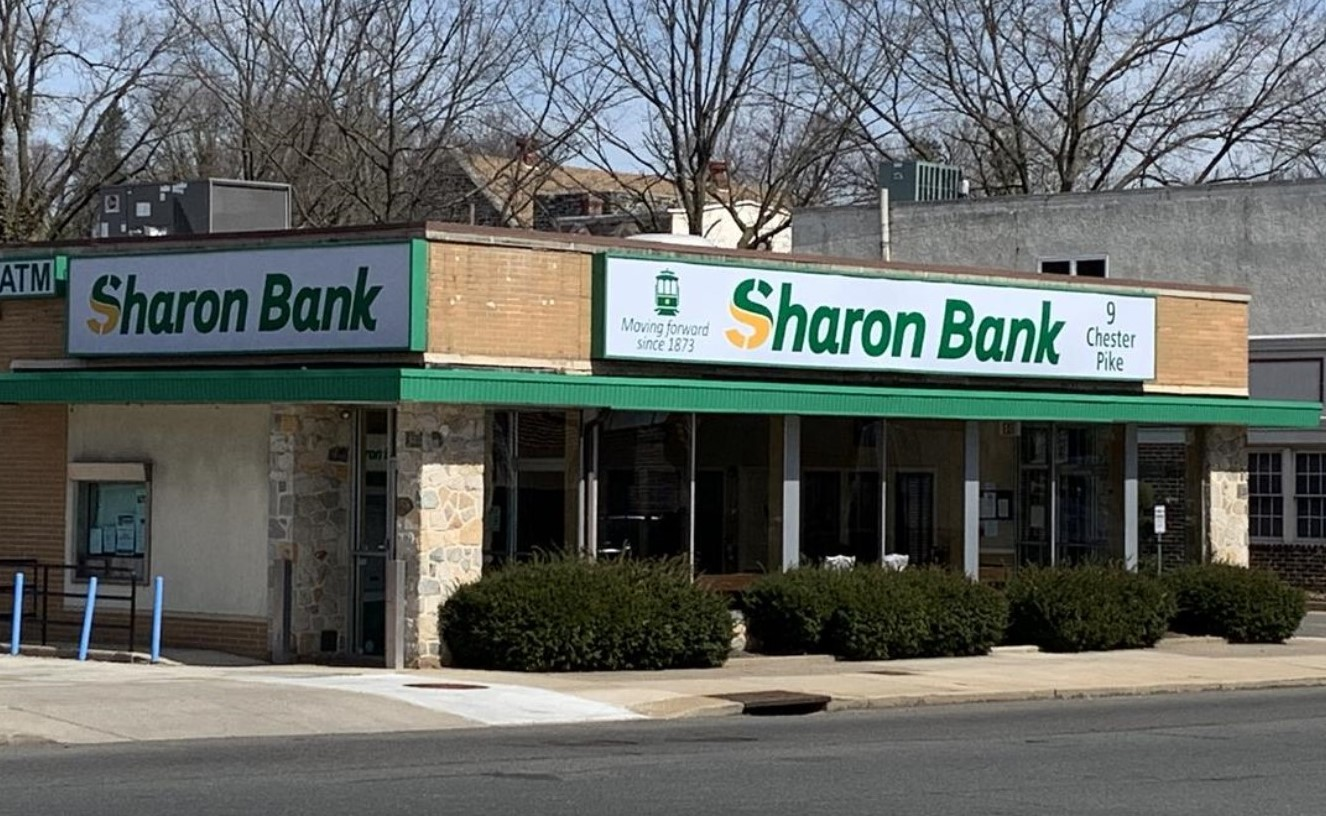 Sharon Bank to Move Headquarters After Nearly a Century and a Half in Darby