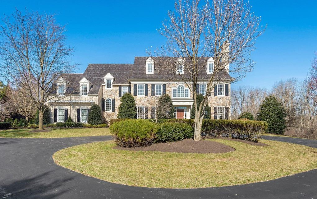 DNB First House of the Week: Stone Estate in Coveted Neighborhood in Newtown Square