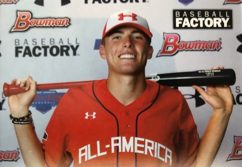 High School Senior from Newtown Square Impresses Baseball Scouts, May Be an Early Selection in MLB Draft
