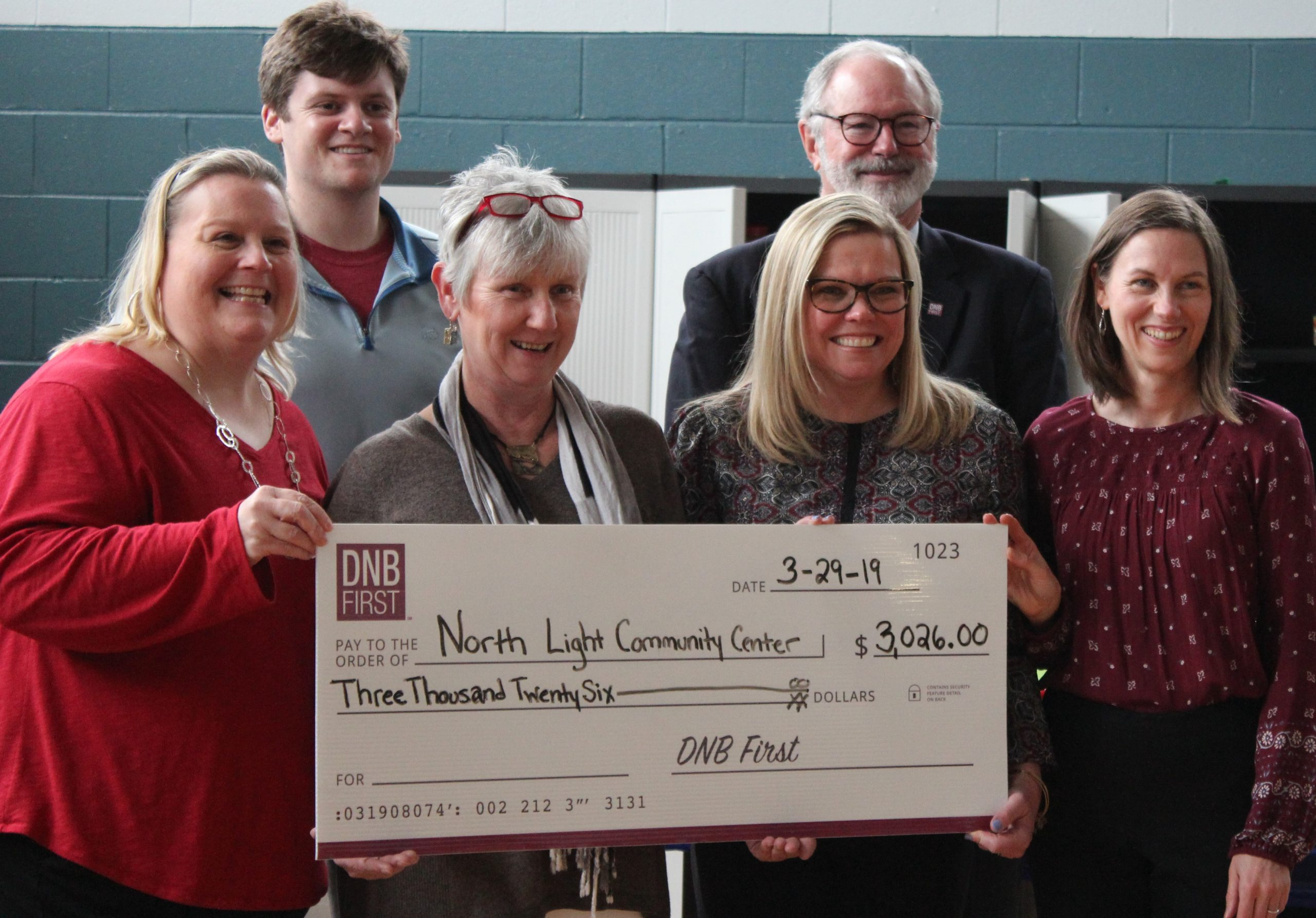 DNB First Employees Build on Their Legacy of Giving Back by Raising Funds for Community Center
