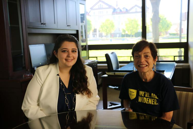 Widener Student Takes University's Reins, Becomes President for a Day