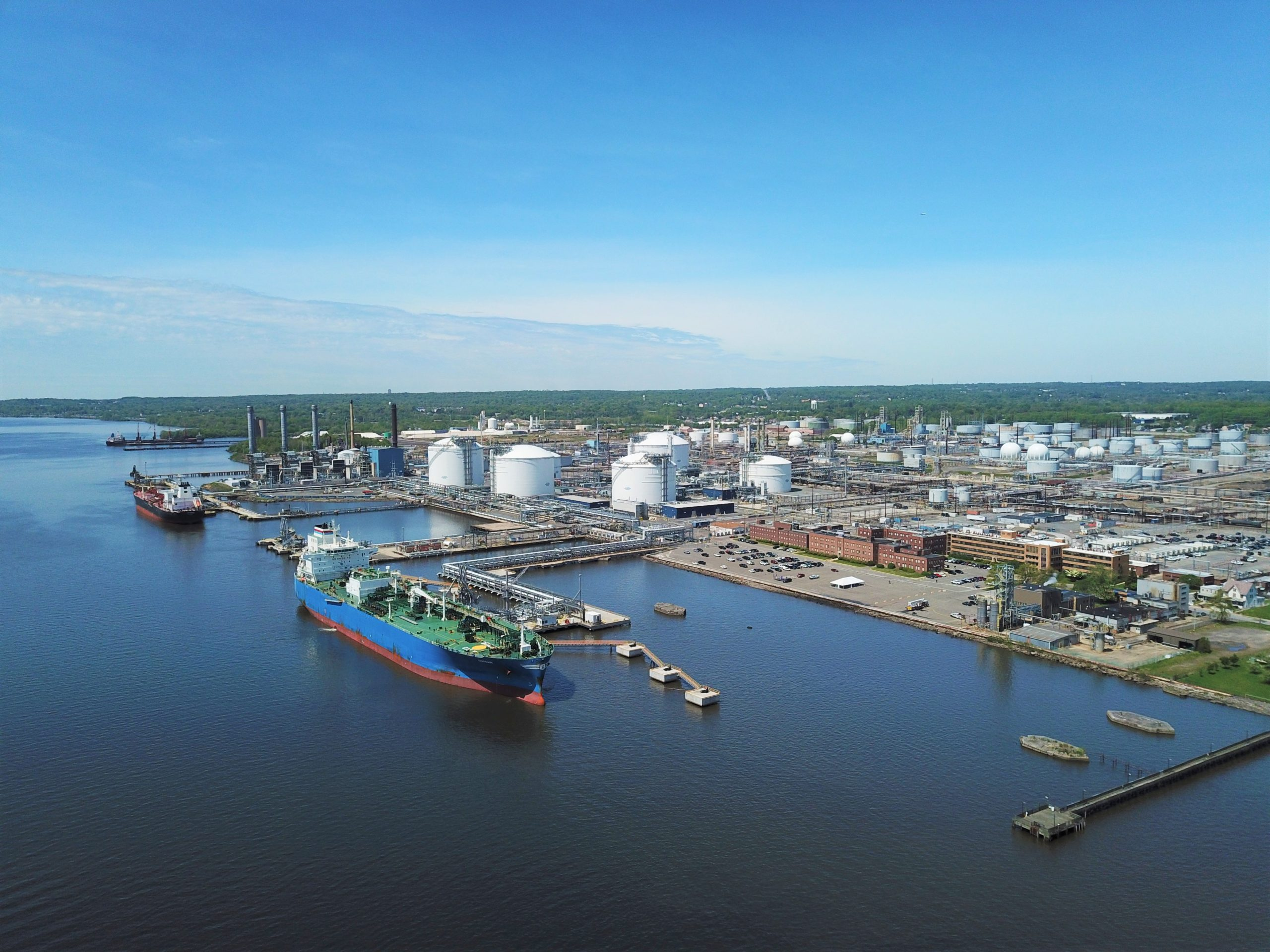 Impact of State's Increased Production of Natural Gas Seen at Marcus Hook Industrial Complex