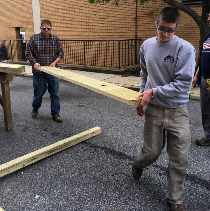 Williamson Trade School Students Help With Media Theater Renovations