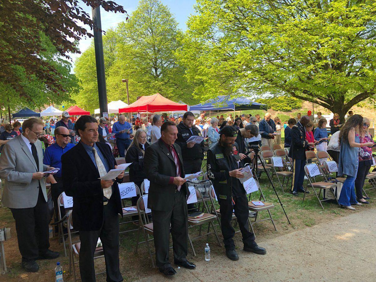 Power of Prayer Celebrated at Rose Tree Park